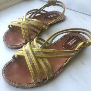 Vintage Marni Slingback Flat Sandals
